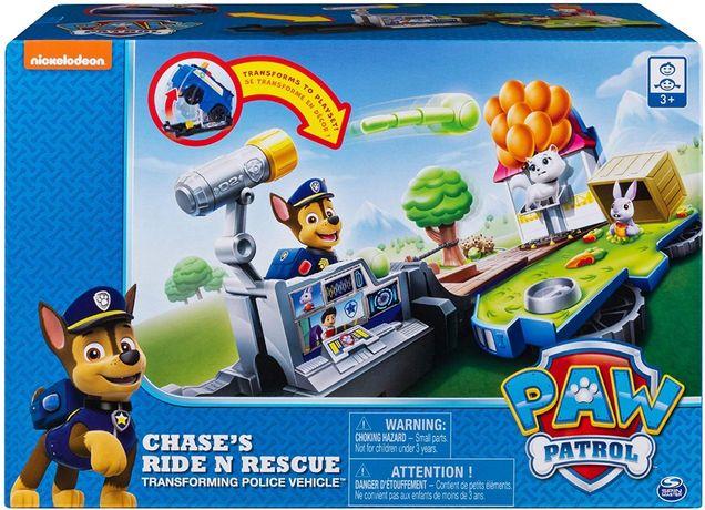 Щенячий Патруль машина трансформер Чейза Paw Patrol Chase Transforming