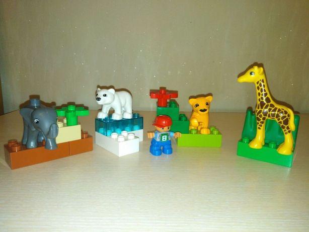 Lego Duplo зоопарк для малышей