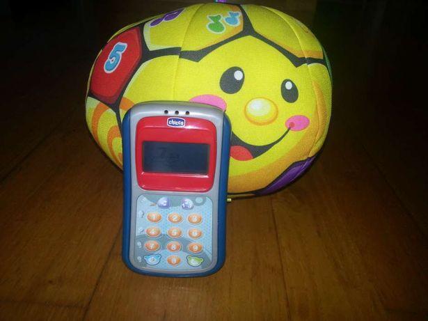 Telemóvel Chicco e bola com música fisherprice