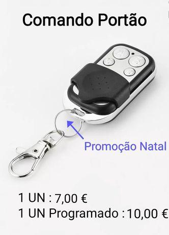 Comando de Portão - Promoção de Natal - Poupança até 5 €