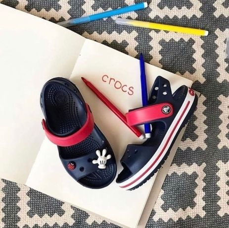 Детские Сандали Кроксы Подростковые Crocs Sandal Kids ORIGINAL 22-34р