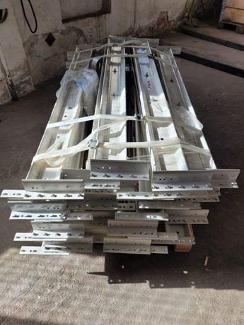 Trawers długość 140 cm, regały magazynowe paletowe
