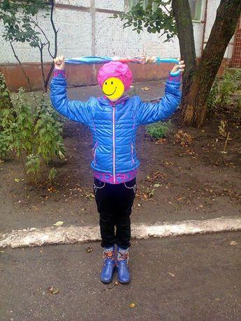Курточка для девочки (берет+сапожки) в ПОДАРОК