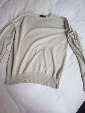 Sweter męski,  beżowy