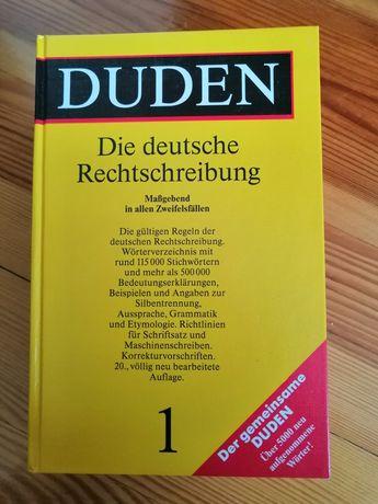 Duden Die deutsche Rechtscbreibung