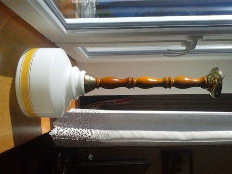 Lampa sufitowa, zabytek z czasów prl., unikatowy klosz!