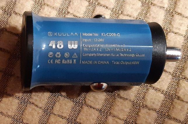 Szybka ładowarka USB KUULAA 3.0 QC 18W NOWA