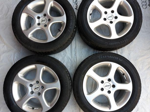 Диски Alutec 5*112R16 Audi VW Mercedes+резина 215*55R16 Германия