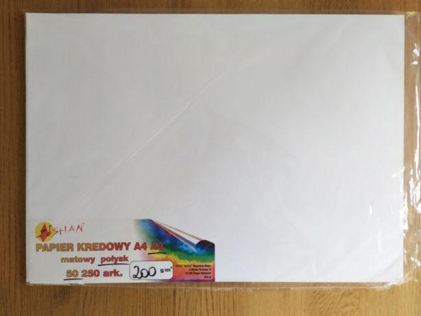 Papier kredowy 200 g błyszczący A3 48 arkuszy