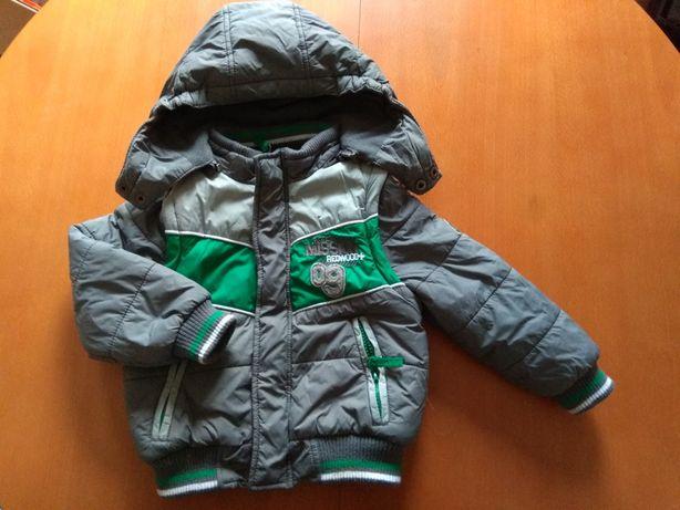 Ubranka dla niemowlaka - kurtka 2w1 rozmiar 92