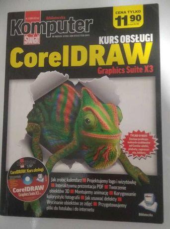CoreIDRAW Graphics Suite X3 Kurs obsługi + płyta CD