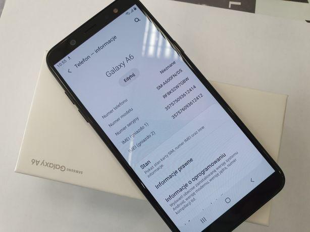 Samsung Galaxy A6 Dual SIM Black/ 100% sprawny/ 3GB / 32GB/ Gwarancja