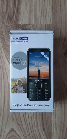 Maxcom Classic MM330 3G Komórka Telefon komórkowy dla seniora NOWY