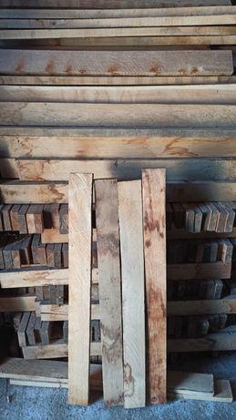Listwy dąb 2,7 x 8,5 x 100cm po suszarni, dębowe