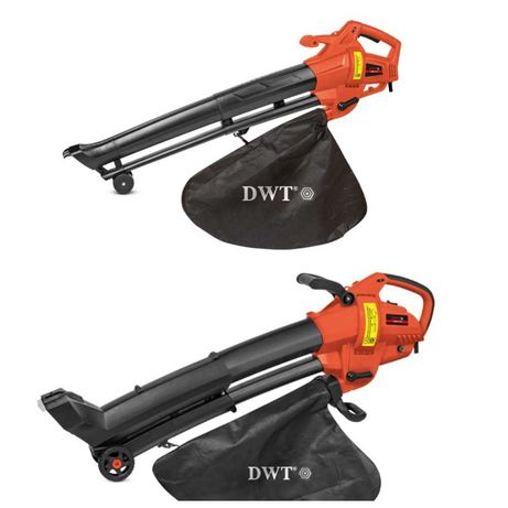 Садовый пылесос воздуходувка DWT LS028-13 G/LS30-13 G/с измельчителем/