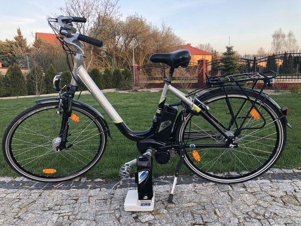 Rower elektryczny peugeot miejski