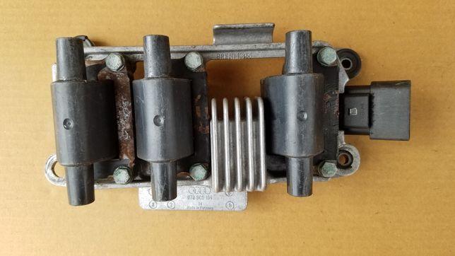 Катушка зажигания Audi A6 C5 2.4 BDV, 2.8 142kw AQD V6 078 905 104