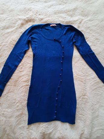 Трикотажний светр-плаття