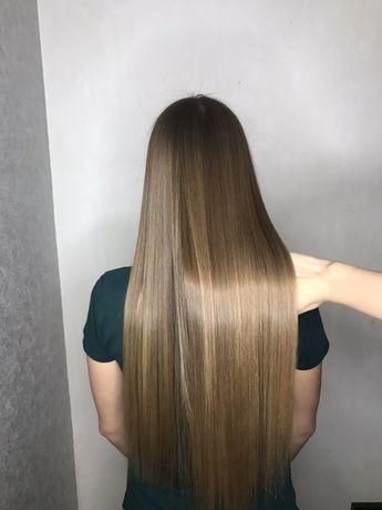 Кератиновое выпрямление/Ботокс для волос/ Кератин / Ботокс