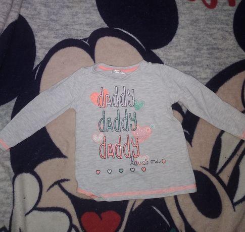 Bluzka dziecięcą dla dziewczynki