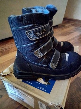Мембранные зимние сапоги(ботинки) Superfit , Bartek