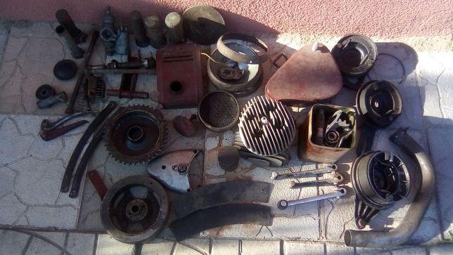 Części do zabytkowego motocykla Wfm Shl Sokół Dkw, trudno dostępne