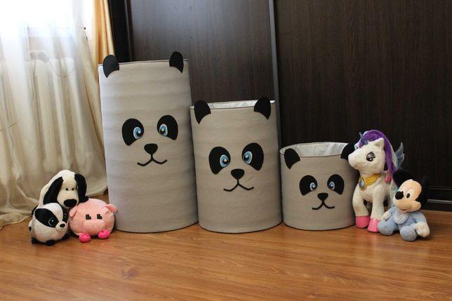 Корзина мешок для игрушек безопасная