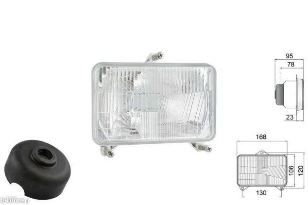 Lampa REFLEKTOR john deere Valtra Ferguson DeutzFahr Claas Renault CAS