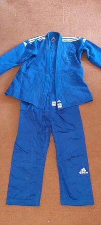 Кимоно для дзюдо adidas чемпион 2, новый, синий