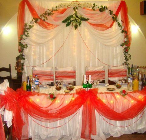 Свадебный декор тканевые ширмы