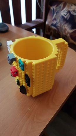 Чашка-конструктор( чашка - лего) для чая, кофе и других напитков..