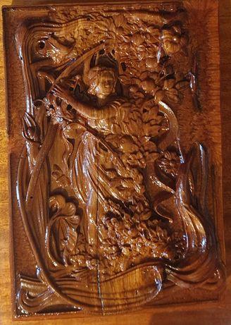 Картина з дерева різьблена. Послуги ЧПУ, картина на замовлення