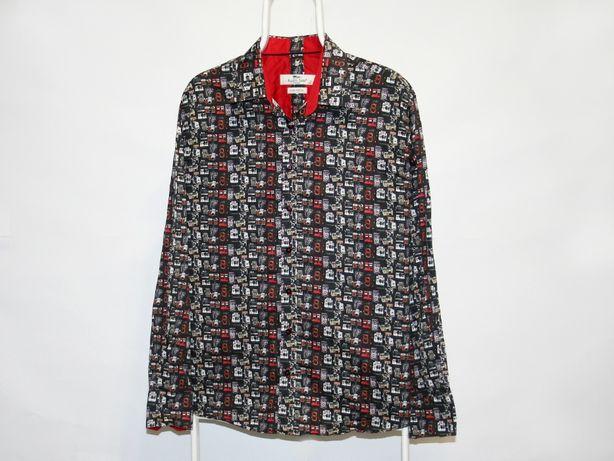 Рубашка Claudio Lugli ( Gucci ) Принт фотоаппарат Рубашка фотографа