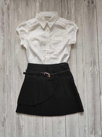 Костюм юбка блузка для девочки в школу Next 6-7y