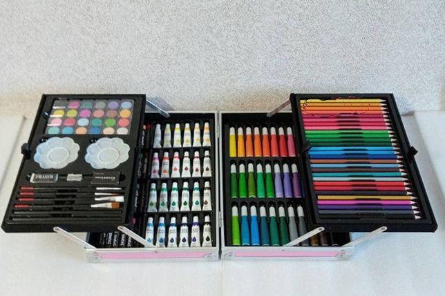 Новый набор для рисования на 145 предметов с красками