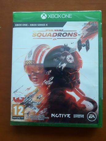 Gra Star Wars Squadrons na Xbox one. Nowa.