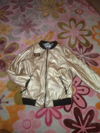 Куртка-пилот 152 размера для девочки