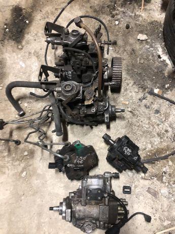 ТНВД BMW M47N M21D24 M51 M57 Топливна рейка Форсунка Клапан Трубка EGR