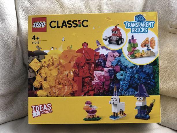 Lego Classic Набор Прозрачные кубики (11013)Лего Классик Оригинал