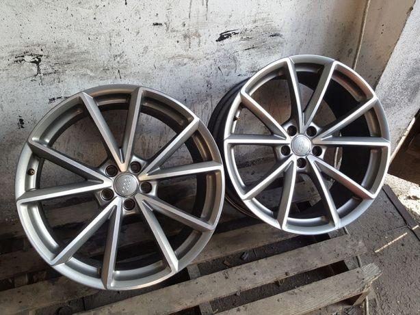 Dwie Felgi Aluminiowe R20 5x112 9.0JX20H2 ET 26 Oryginał Audi na sztuk
