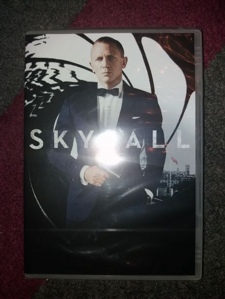 Nowy film Skyfall DVD zafoliowany
