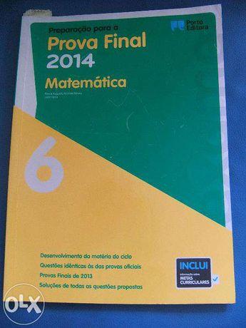 Prova Final Matematica 6º porto editora