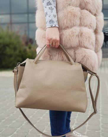 Жіноча шкіряна італійська сумка borse italiane in pelle