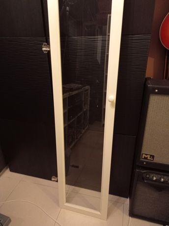 Porta branca vidro armário IKEA 200x40