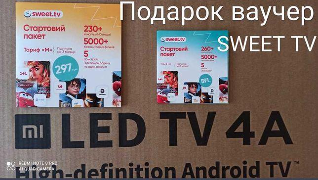 Smart TV Xiaomi MI TV 4S 43 - 32 android TV оф.