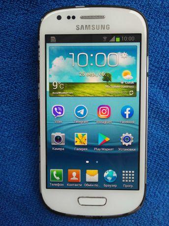 "Samsung Galaxy S3 mini, все працює, 4"" екран, 1 ГБ ОЗУ, 8 ГБ ПЗУ, 5 Мп"