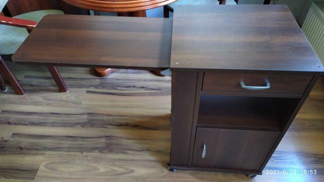 Szafka przyłóżkowa RUBENS 1 firmy Prometal wraz ze stolikem