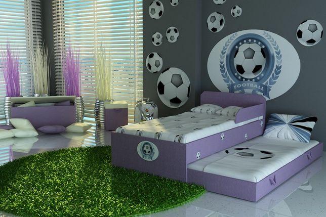 Łóżko wysuwane dla dzieci,dziecięce,piętrowe,materace GRATIS-Pszczew