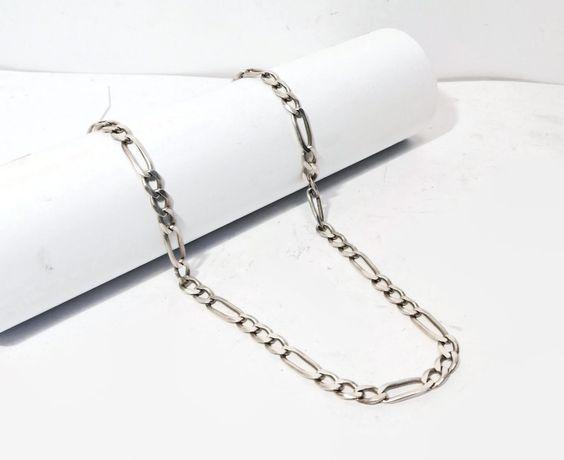 Wyrób jubilerski używany- srebrny łańcuszek