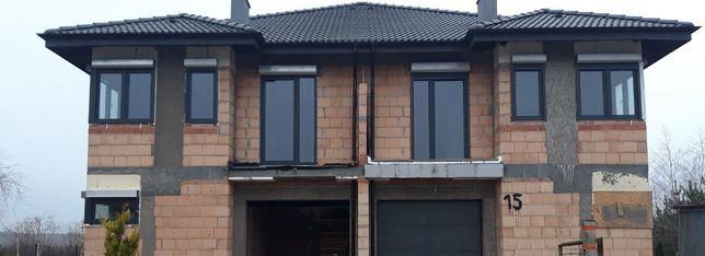 Okno Burgmann uchylne, otwierane z roletą - stan nowy -1480 x 600 2szt
